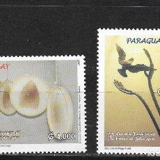 Sellos: PARAGUAY Nº 2995 AL 2996 (**). Lote 276718108