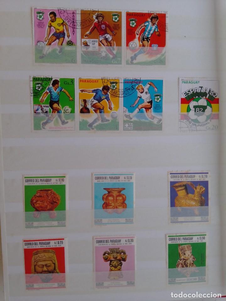 Sellos: Lote 183 sellos Paraguay - Foto 2 - 288485923
