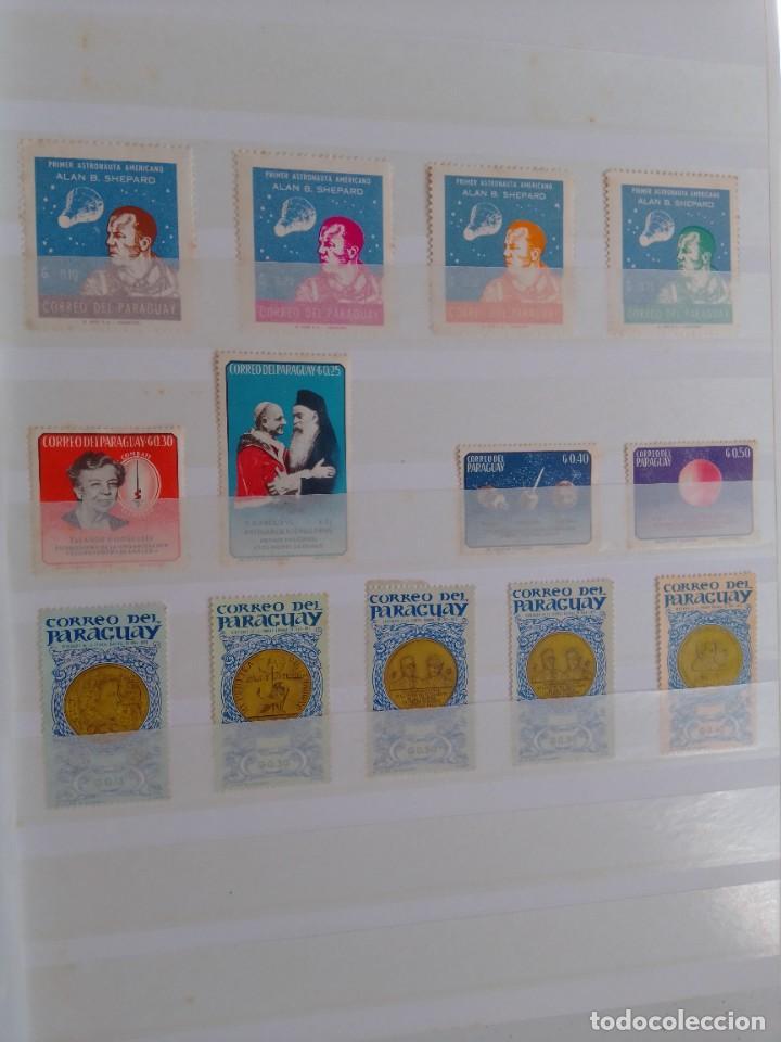 Sellos: Lote 183 sellos Paraguay - Foto 5 - 288485923