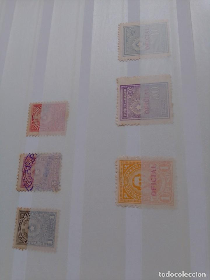 Sellos: Lote 183 sellos Paraguay - Foto 8 - 288485923