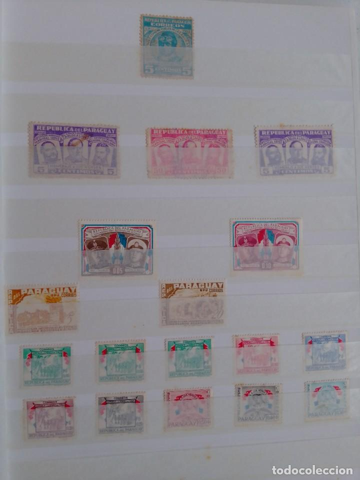 Sellos: Lote 183 sellos Paraguay - Foto 9 - 288485923