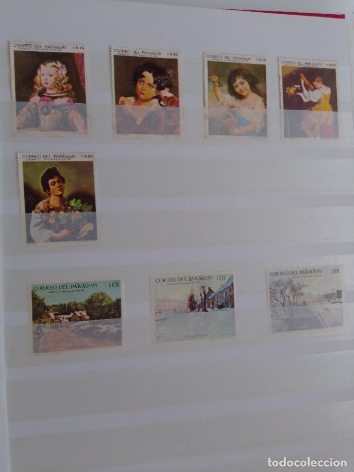 Sellos: Lote 183 sellos Paraguay - Foto 10 - 288485923