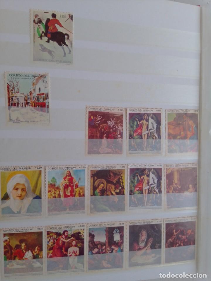 Sellos: Lote 183 sellos Paraguay - Foto 13 - 288485923
