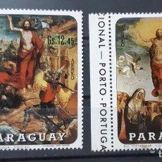 Sellos: PARAGUAY,1970,CAT.MI.2024/2025. Lote 289226368
