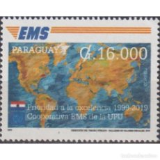 Sellos: ⚡ DISCOUNT PARAGUAY 2019 THE 20TH ANNIVERSARY OF THE UPU EMS SERVICES MNH - CARDS, POST OFFI. Lote 297130838