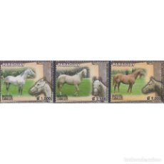 Sellos: ⚡ DISCOUNT PARAGUAY 2019 HORSE BREEDS OF PARAGUAY MNH - HORSES. Lote 297131828