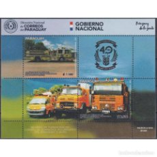 Sellos: ⚡ DISCOUNT PARAGUAY 2019 THE 40TH ANNIVERSARY OF THE VOLUNTEER FIREFIGHTERS CORPS OF PARAGUAY. Lote 297135033