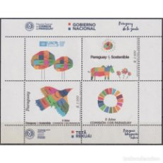 Sellos: ⚡ DISCOUNT PARAGUAY 2020 THE 75TH ANNIVERSARY OF THE UNO MNH - UN, PICTURE. Lote 297137713