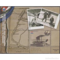 Sellos: ⚡ DISCOUNT PARAGUAY 2019 THE 100TH ANNIVERSARY OF THE FIRST POSTAL FLIGHT BETWEEN PARAGUAY AND. Lote 297142473