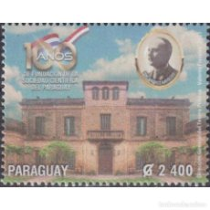 Sellos: ⚡ DISCOUNT PARAGUAY 2021 THE 100TH ANNIVERSARY OF THE SCIENTIFIC SOCIETY OF PARAGUAY MNH - S. Lote 297145853