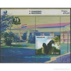 Sellos: ⚡ DISCOUNT PARAGUAY 2019 THE 75TH ANNIVERSARY OF THE IPS CLINIC MNH - THE MEDICINE, BIRDS. Lote 297146038