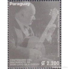 Sellos: ⚡ DISCOUNT PARAGUAY 2019 THE 100TH ANNIVERSARY OF THE BIRTH OF CAYO SILA GODOY MNH - MUSICAL. Lote 297146053