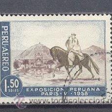 Sellos: PERÚ, USADO. Lote 26619758