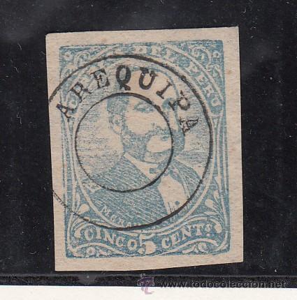 PERU AREQUIPA 23 SIN GOMA, (Sellos - Extranjero - América - Perú)
