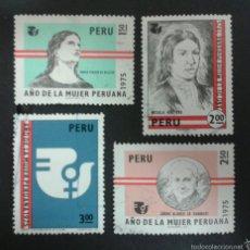 Sellos: SELLOS DE PERÚ. YVERT 611/4. SERIE COMPLETA USADA.. Lote 54457350