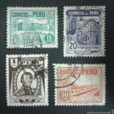 Sellos: SELLOS DE PERÚ. YVERT 410/3. SERIE COMPLETA USADA.. Lote 54471653