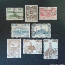 Sellos: SELLOS DE PERÚ. YVERT A-104/11. SERIE COMPLETA USADA.. Lote 58456268