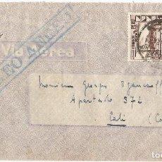 Sellos: PERU 1945 CORREO AEREO CARTA VOLADA DEL PERU A COLOMBIA. Lote 61572708
