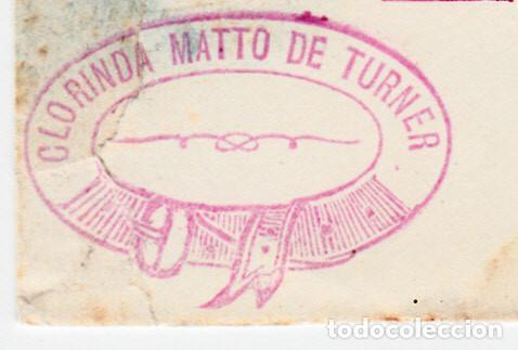 Sellos: HISTORIA POSTAL PERÚ-SOBRE ENTERO POSTAL AÑO 1886 ESCRITA POR CLORINDA MATTO --- VIA MAGALLANES - Foto 3 - 67276081