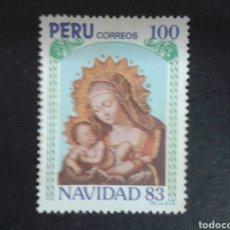 Sellos: SELLOS DE PERÚ. YVERT 765. SERIE COMPLETA USADA. NAVIDAD.. Lote 93059328