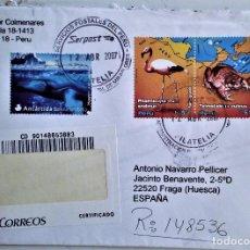 Sellos: SOBRE CIRCULADO CON SELLOS DE PERÚ (IV). Lote 87376192