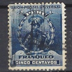 Sellos: PERÚ - SELLO USADO. Lote 124167119