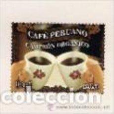 Sellos: CAFÉ DE PERÚ. SELLO AÑO 2011. Lote 127159259