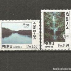 Sellos: PERU YVERT NUM. 958/959 ** SERIE COMPLETA SIN FIJASELLOS UPAE. Lote 133564006