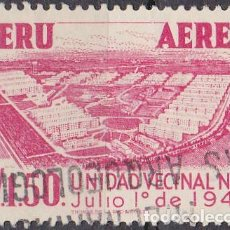 Sellos: 1953 - PERU - UNIDAD VECINAL Nº 3 - YVERT PA 107. Lote 149667102