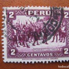 Sellos: PERU, 1934 YVERT 297A. Lote 155925722