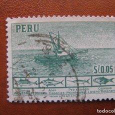 Sellos: PERU, 1952 YVERT 427. Lote 155929438