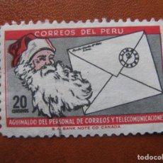 Sellos: PERU, 1965 NAVIDAD, YVERT 469. Lote 156107878