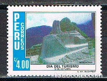 PERU Nº 1327, DÍA DEL TURISMO: INTIHUATANA, CUZCO, NUEVO *** (Sellos - Extranjero - América - Perú)