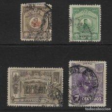 Sellos: PERÚ - CLÁSICOS. YVERT NSº 189/90 Y 192/93 USADOS. Lote 184819818