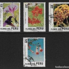 Sellos: PERÚ. YVERT NSº 580/82 Y 584 USADOS Y DEFECTUOSOS. Lote 191615121