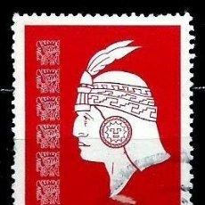 Sellos: PERÚ SCOTT: 0645-(1978) (CABEZA INCA) USADO. Lote 191651217