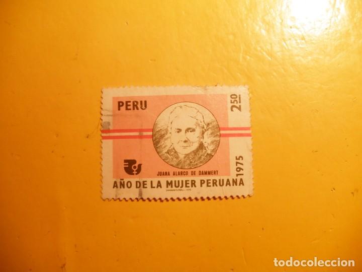 PERU - JUANA ALARCO DE DAMMERT. (Sellos - Extranjero - América - Perú)