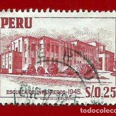 Sellos: PERU. 1952. ESCUELA DE INGENIEROS. Lote 207858653
