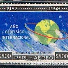 Sellos: PERU Nº 589, AÑO GEOFISICO INTERNACIONAL NUEVO ***. Lote 210462980