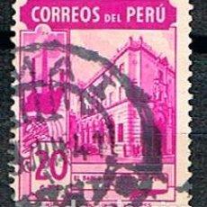 Sellos: PERU Nº 431, BANCO INDUSTRIAL NACIONAL.,USADO. Lote 210463837