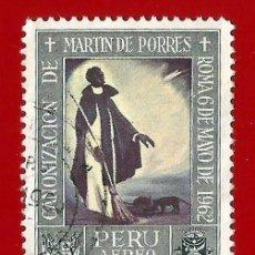 Selos: PERU. 1965. SAN MARTIN DE PORRES. Lote 211601836