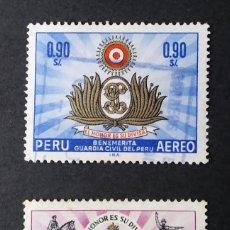 Selos: 1966 PERÚ I CENTENARIO DE LA GUARDIA CIVIL. Lote 217374268