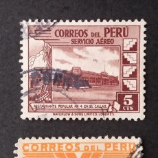 "Sellos: 1945- 1946 PERÚ SERIE 1938 PIE DE IMPRENTA ""COLUMBIAN BANK NOTE"". Lote 217450400"