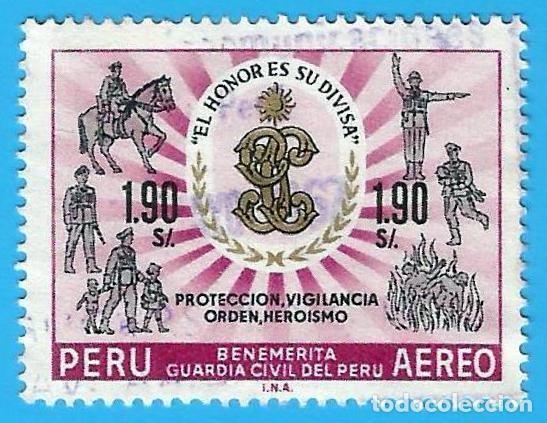 PERU. 1966. BENEMERITA GUARDIA CIVIL (Sellos - Extranjero - América - Perú)