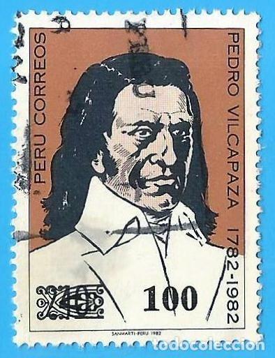 PERU. 1982. PEDRO VILCAPAZA (Sellos - Extranjero - América - Perú)
