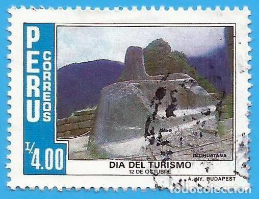 PERU. 1986. TURISMO. INTIHUATANA. CUSCO (Sellos - Extranjero - América - Perú)