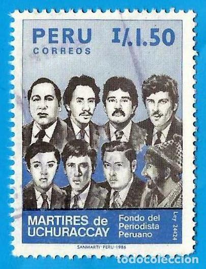 PERU. 1986. DIA DEL PERIODISTA (Sellos - Extranjero - América - Perú)