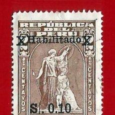 Selos: PERU. 1982. PRO DESOCUPADOS. HABILITADO. Lote 221832277