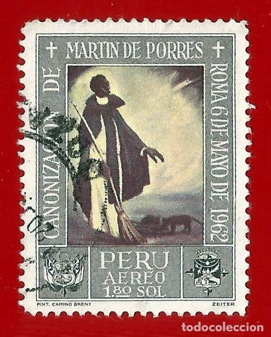 PERU. 1965. SAN MARTIN DE PORRES (Sellos - Extranjero - América - Perú)