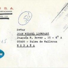 Sellos: 1986. PERÚ. SOBRE CIRCULADO. SELLO PAPA JUAN PABLO II. RELIGIÓN. MATASELLOS AL DORSO. VER FOTOS.. Lote 252389345